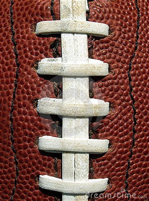 Football Laces Stock Image - Image: 190711