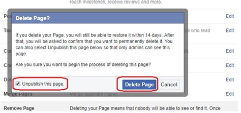 How to Delete Facebook Page Permanently? - ProMazi